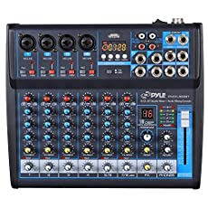 Image of Professional Audio Mixer. Brand catalog list of Pyle. With an score of 4.0.