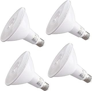 PAR38 Led Light Bulb,Equivalent, Daylight, Dimmable, PAR38 LED Light Bulb Dimmable Flood Light Bulbs, 18 Watt, 5000k 1300lm,Suitable for Track & Recessed Lighting, 4-Pack