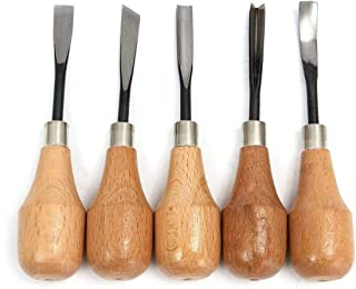 Working Tool Hand Carving Chisels Carving Spoons Bowls Set DIY Tools for Lathe Woodcut