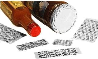 REED Cut Shrink Bands for Caps - Tamper Message -