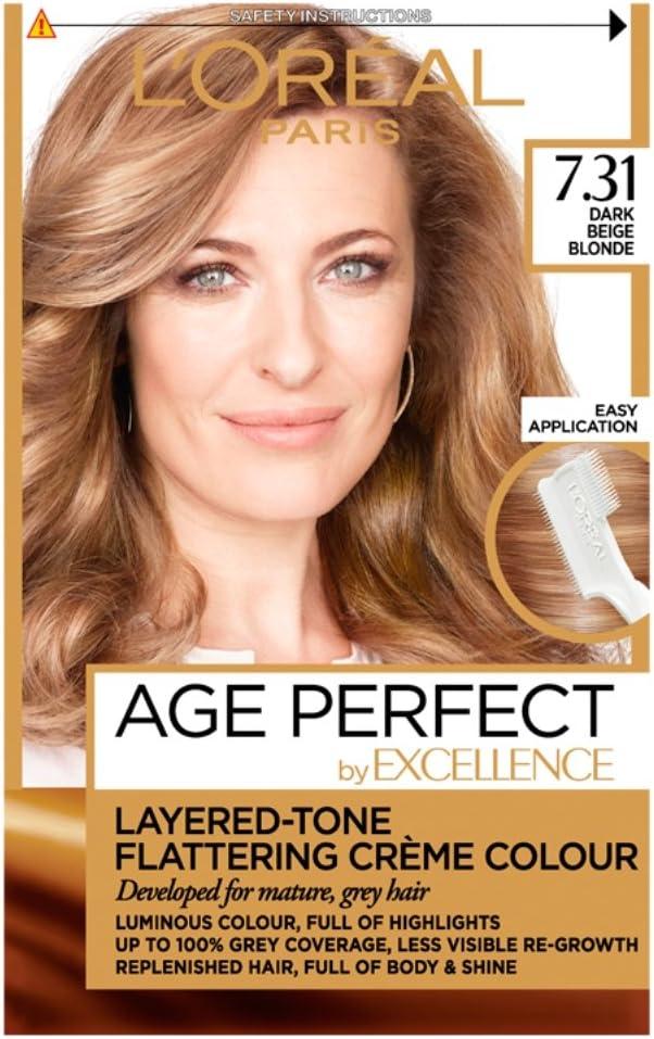 Tinte para cabello LOreal Paris Excellence Age Perfect, tono ...