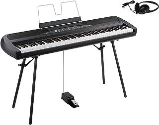 KORG コルグ 電子ピアノ DIGITAL PIANO 88鍵盤 SP-280 BK ブラック (①オプション無し)