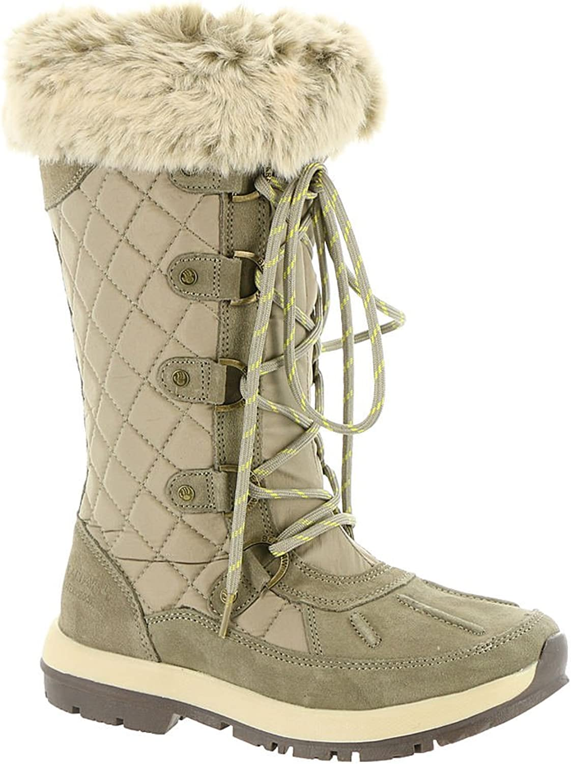 Bearpaw Quinevere Tall Women's Waterproof Snow Boots Duck Toe
