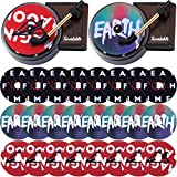 28 Pieces Record Player Car Air Freshener Aromatherapy Tablet Phonograph Machines Set Including 2 Pieces Car Fragrance Diffuser and 26 Pieces Phonograph Perfume Tablets for Car Auto Decor
