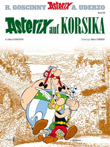 Asterix 20: Asterix auf Korsika (German Edition)