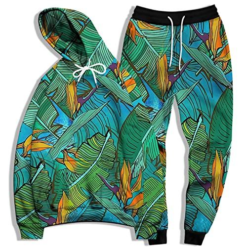 SSBZYES Suéter para Hombre Traje De Sudadera para Hombre Sudadera De Talla Grande para Hombre Pantalón De Chándal De Talla Grande Sudadera con Capucha Traje Deportivo Informal
