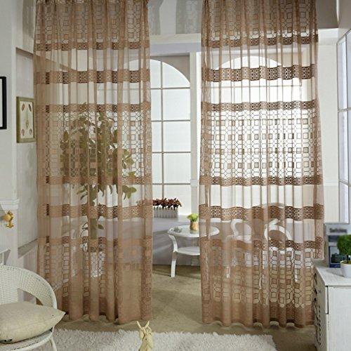Met Love Salon Chambre Étude Accueil Fenêtre Translucide Screening Baie Fenêtre Balcon Mince Fenêtre Screening 2 Panneaux (taille : L:2.0*H:2.7m)