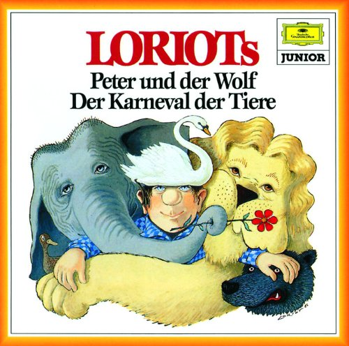Prokofiev: Peter and the wolf, Op.67 - Narration in German; Text adapted by LORIOT on basis of Prokofiev's text - Eines Morgens, als der Großvater und die dicke Ente noch schliefen
