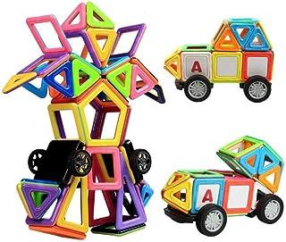 Marlamall 77pcs Big Size Magnetic Construction Building Blocks Toys Educational Puzzle Kids