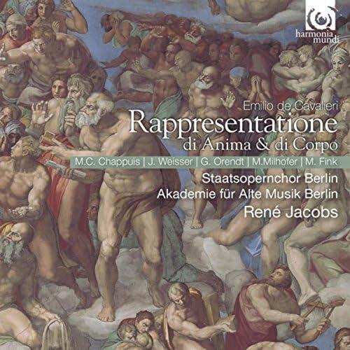 René Jacobs, Marie-Claude Chappuis, Johannes Weisser, Akademie für Alte Musik Berlin and Chor der Deutschen Staatsoper Berlin
