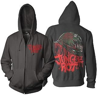 Jungle Rot Full Metal Rot Zip Hoodie