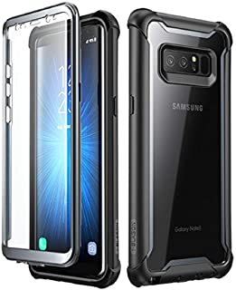 i-Blason Samsung Galaxy Note 8 case, [Ares] Full-body Rugged Clear Bumper Case with Built-in Screen Protector for Samsung ...