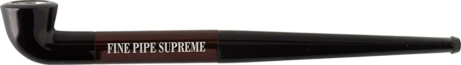 回想欠乏すべきFINE PIPE SUPREME(ファイン パイプ シュプリーム) パイプ 手巻きタバコ用 ブラウン FPS-BR