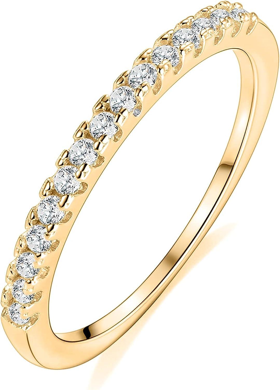 Vinjewelry 1.5mm Wedding Austin Mall Band for Ring Women Moissanite Popular product Eternity