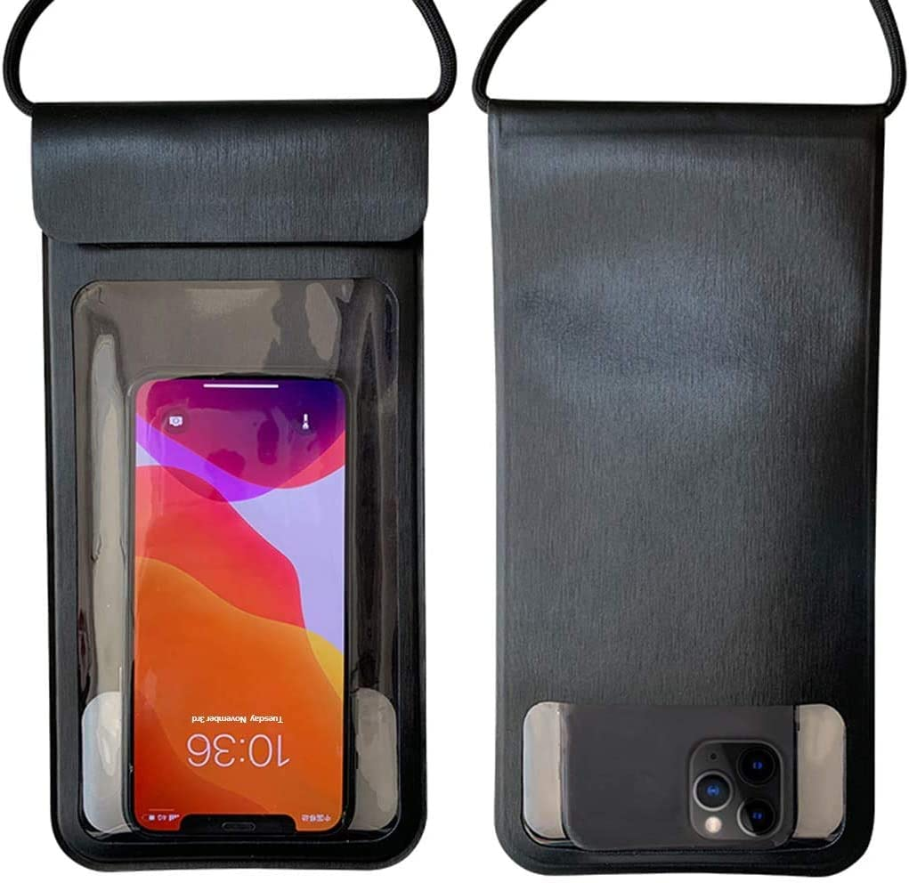 Huiduoduo Waterproof Pouch Universal Waterproof Pouch Dry Bag for iPhone SE(2020)/12/11/11Pro/XR/XS/X/8Plus/7Plus/8/7/6s/6, Samsung Galaxy S20/S20/Ultra/S20 Plus/S10/S9/S9+