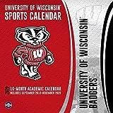 University of Wisconsin Badgers 2020 Calendar