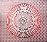 raajsee Indian Tapestry Mandala Ombre Tapestry Hippie