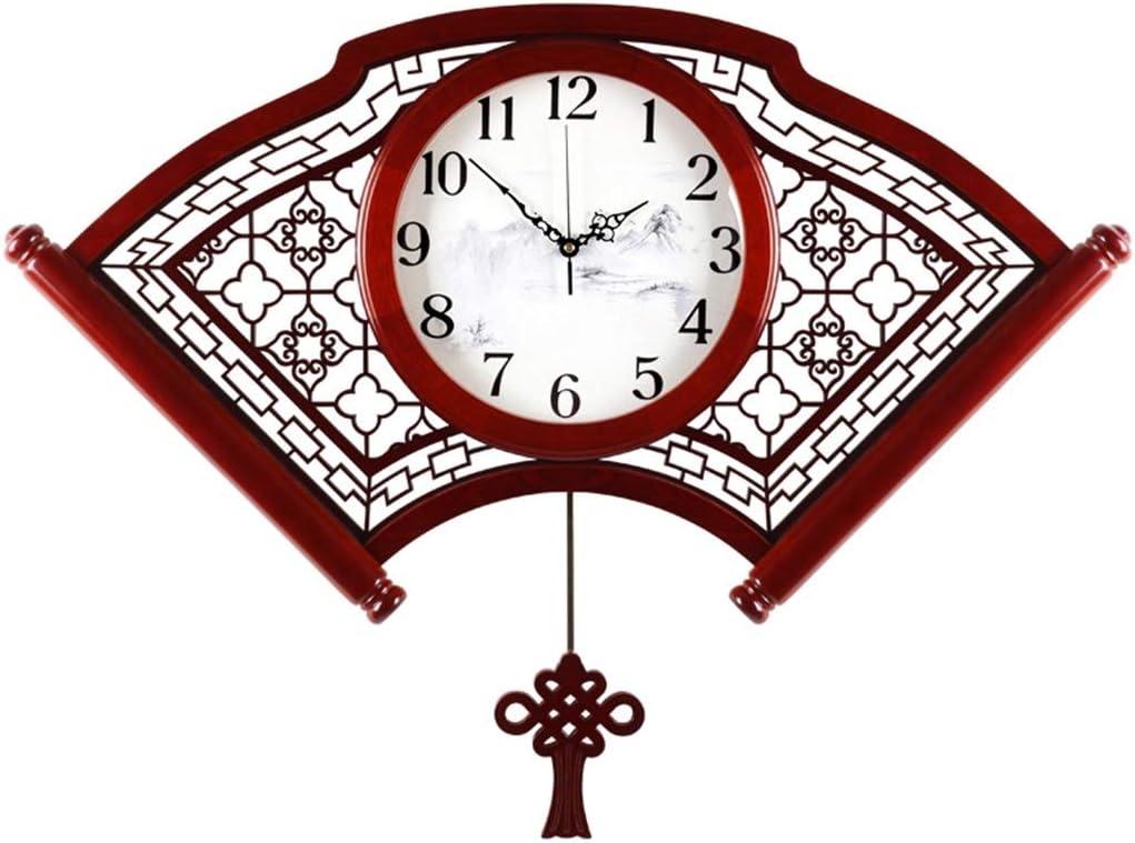 MJJ HYJ-Family Clock Wall Retro Pendulum Max 41% OFF Super sale Style Chinese Bel