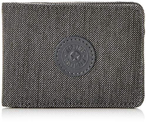 Kipling Money Keeper - Portafogli Donna, Nero (Black Indigo), 11x7.5x1 cm (B x H T)