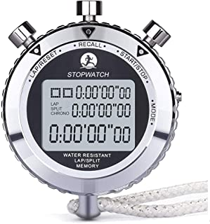 LAOPAO Melt Stopwatch, Clock Daily Rainproof Digital Timer for Sports Match,Competition,Coach,Referee,Training,Timing