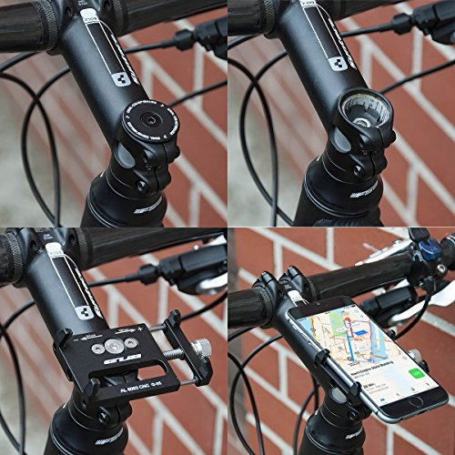 GUB Universal Bike Fahrrad Motorrad Halterung für Handy, Smartphone, Navi usw. - 9