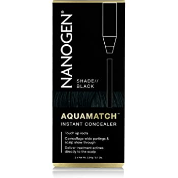 Nanogen Aquamatch - Corrector Capilar Resistente Al Agua, color Negro: Amazon.es: Belleza