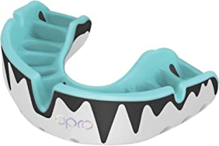 OPRO Platinum Level Mouthguard | Gum Shield for Rugby, Hockey, Boxing, and Other Contact Sports - 18 Month Dental Warranty