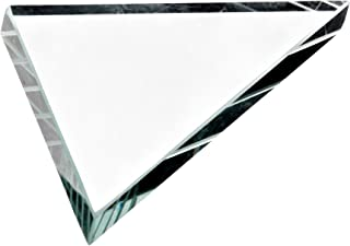 American Educational Glass Right Angle Prism, 100mm Length, 10mm Width (Bundle of 5)