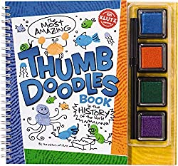 The Most Amazing Thumb Doodles Book: in the History of the Civilized World (Klutz)