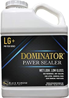 1 Gallon DOMINATOR LG+ Wet Look, Low Gloss Paver Sealer - Covers up to 400 Square feet