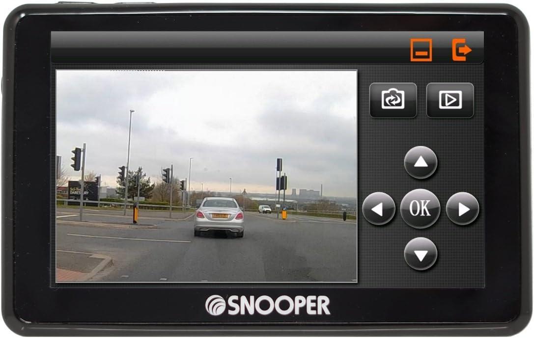 Snooper My Speed Dvr G2 Speed Limit Und Kamera Alert System Mit Dash Cam Navigation