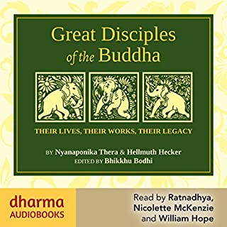 Great Disciples of the Buddha cover art