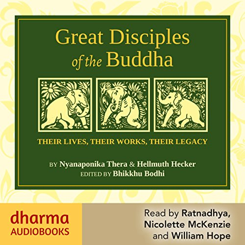 Great Disciples of the Buddha audiobook cover art