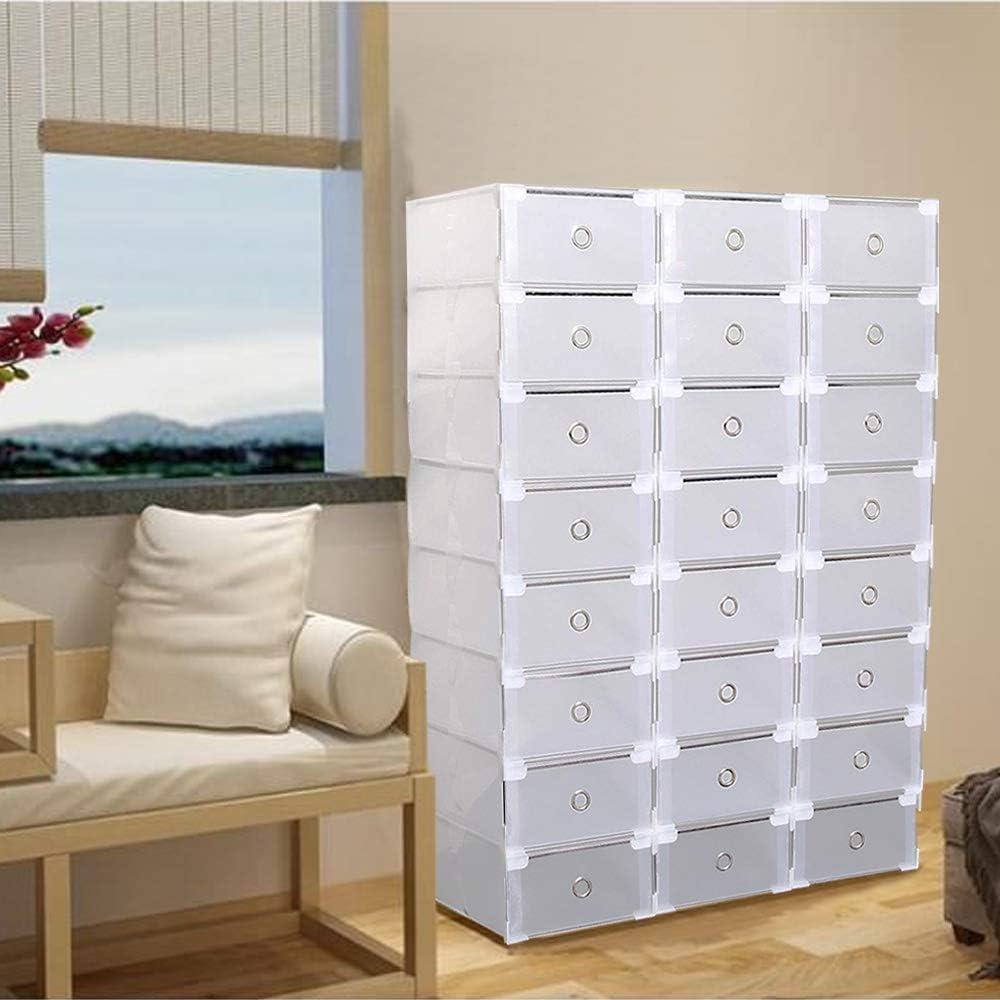 AlRight Schuh Box – 20 Aufbewahrungsboxen für Schuhe, faltbar und ...