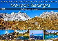 Naturpark Riedingtal (Tischkalender 2022 DIN A5 quer): Impressionen im Riedingtal in Zederhaus im Lungau (Monatskalender, 14 Seiten )