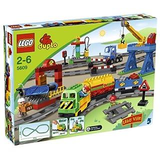 LEGO Duplo 5609 - Eisenbahn Super Set (B0014QZMU2)   Amazon price tracker / tracking, Amazon price history charts, Amazon price watches, Amazon price drop alerts