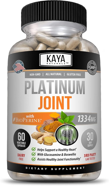 Kaya Regular dealer Naturals Max 78% OFF Triple Strength Pain Joint Supp Relief Supplement