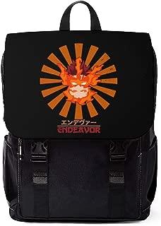 Enji Todoroki Endeavor Vintage Art - My Hero Academia Inspired Unisex Casual Shoulder Daypack Backpack