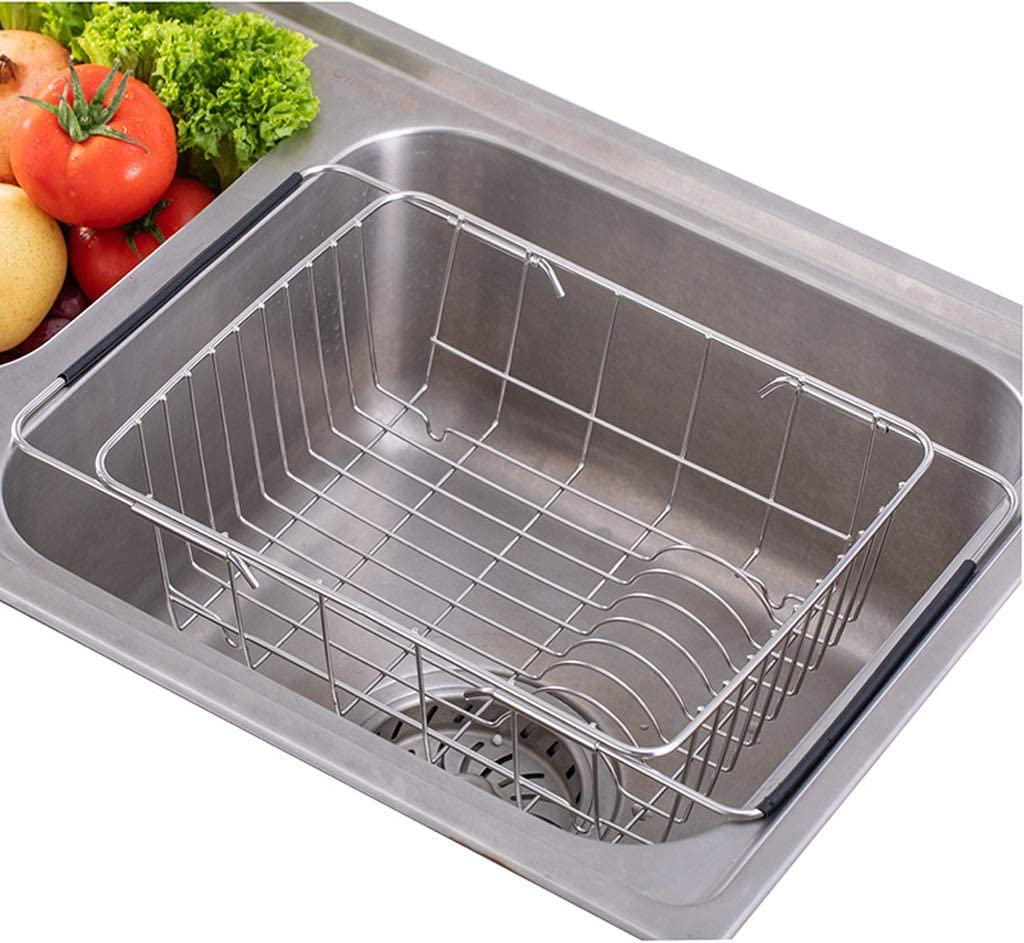 Dish Miami Mall Drainer Rack Stainless Deluxe Steel Cabinet D Organiser Sink Under