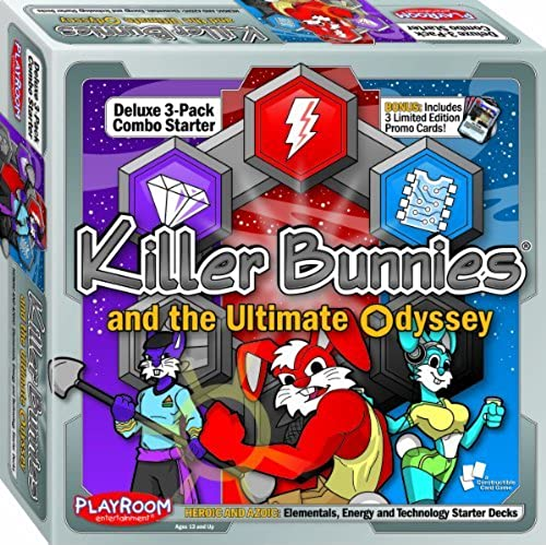 Killer Bunnies Oddessy Starter Combo Heroic and Azoic by Playroom Entertainment
