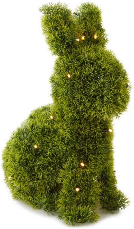 Industry No. 1 AT Designs Bunny Rabbit Shaped Popular overseas Topiary Artificial Plant Animal