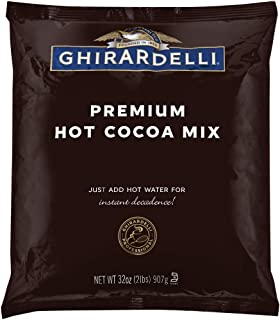 Ghirardelli Chocolate Premium Indulgence Hot Cocoa Mix, 32 Ounce Package