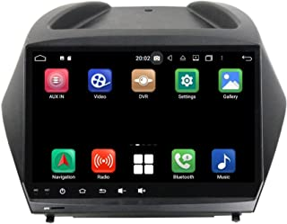 Android 10.0 OS Car GPS Navigation Compatible with Hyundai Tucson/IX35(2009-2014), 9 Inch Touchscreen Radio Bluetooth Head...