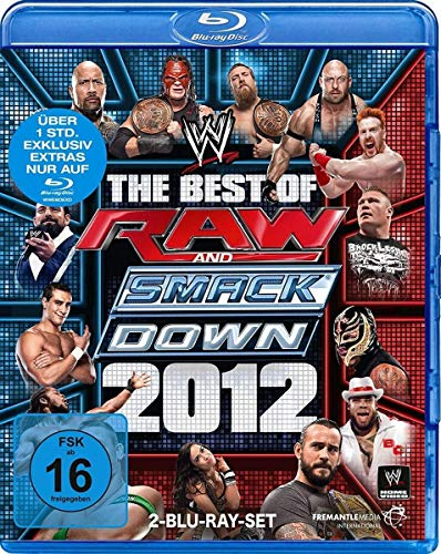 The Best of Raw & Smackdown 2012 [Blu-ray]