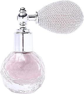 Spray de glitter em pó solto, spray de perfume em pó brilhante para maquiagem, rosto, sombra, cabelo, corpo – violeta