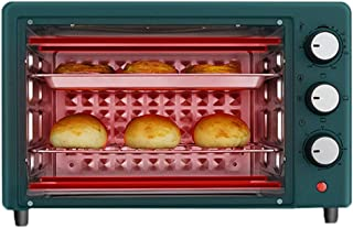 SUWEN Horno Tostador de Pan,Horno de sobremesa, Capacidad de 25 litros, 1350 W, Temperatura máxima 250ºC, posición de cocción Doble,