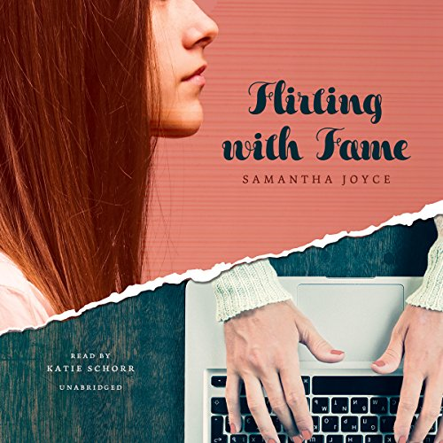 Flirting with Fame audiobook cover art