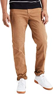 American Eagle Mens 3956269 Flex Slim Straight Jean, Tour Khaki