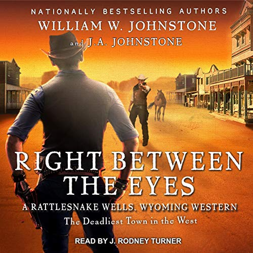 Right Between the Eyes audiobook cover art