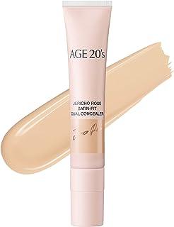 Sponsored Ad - AGE 20's Jericho Rose Liquid Facial Concealer with Dual Applicator #21 LIGHT BEIGE (0.5 fl.oz)
